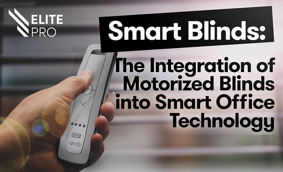 Smart Motorized Blinds Infographic